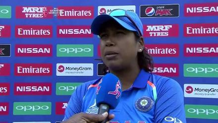 #WWC17 Jhulan Goswami Interview
