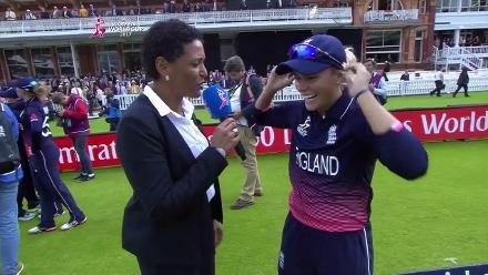 #WWC17 FINAL: Alex Hartley Interview