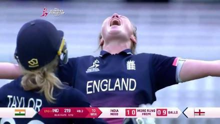 #WWC17 Final: England v India match highlights
