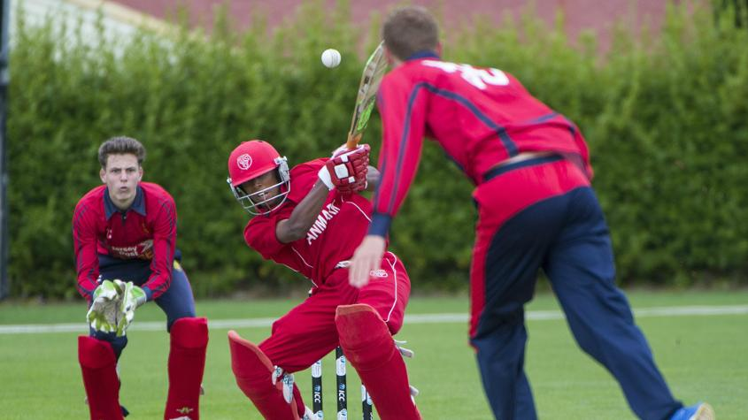 Carlyon (3/10) led from the front and was supported by the rest of his attack as all Jersey bowlers took wickets.