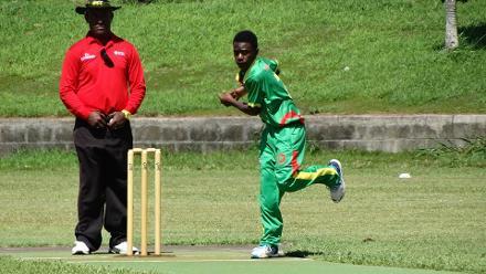 ICC U19 CWC 2018, EAP Qualifier: Day 3 - PNG v Vanuatu