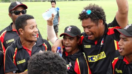 ICC U19 CWC 2018, EAP Qualifier: Day 4 - PNG v Fiji