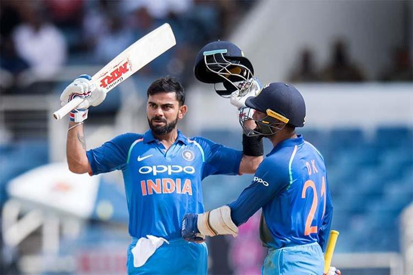 Virat Kohli leads the Men's ODI batting rankings with 873 points ahead of the Sri Lanka series.