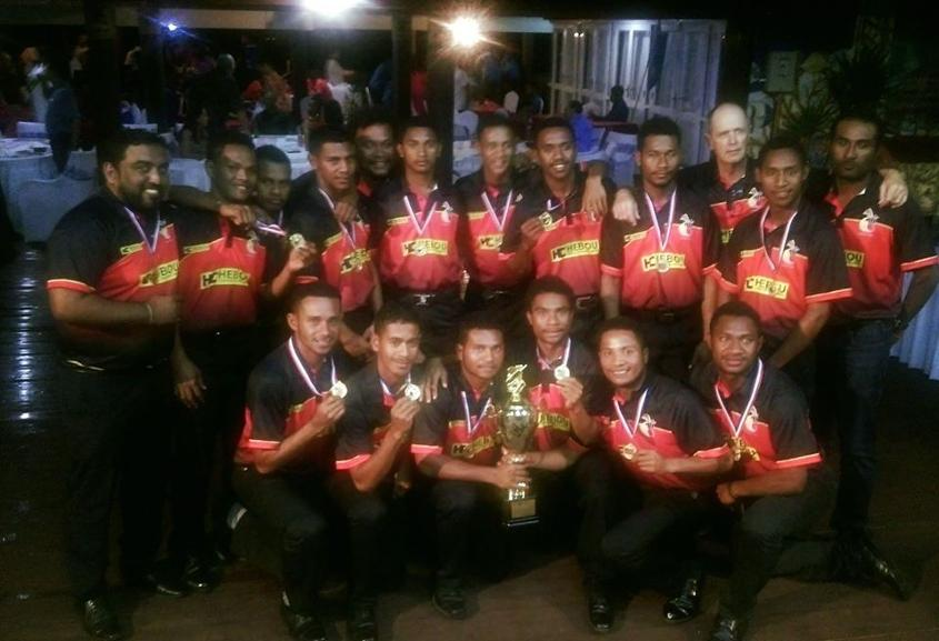 U19 Cricket World Cup Qualifiers PNG at the closing function