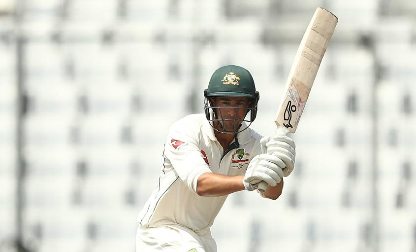 Australia could have been in more trouble, were it not for Ashton Agar's resolute 41 not out, which lifted his side from 124 for 7 to 217