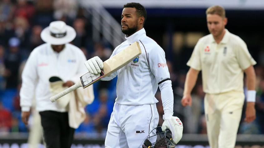 Shai Hope smacked two centuries at Headingley to secure a memorable win for his side