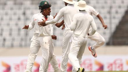 While Shakib was the wrecker-in-chief, he found an able spin partner in Taijul Islam who finished with figures of 3 for 60 as Australia fell short by 20 runs.