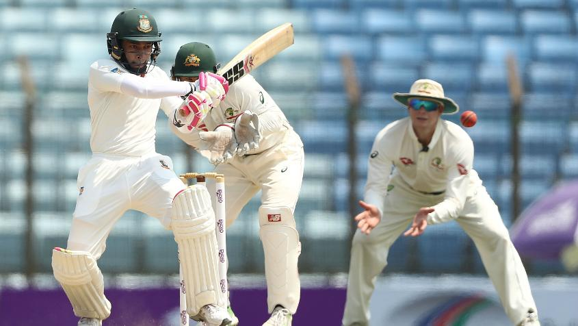 Mushfiqur Rahim has gained one place to reach 22nd position.
