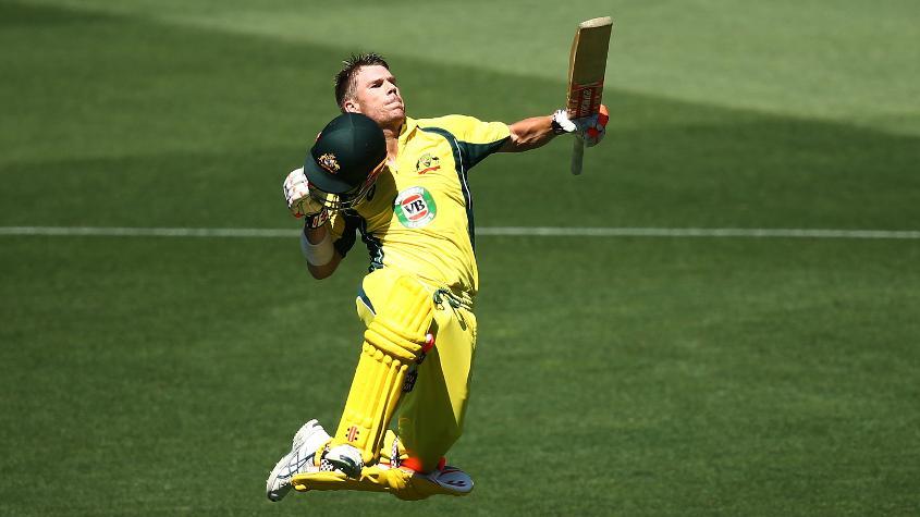 For Australia, opener David Warner is ranked second among batsmen.