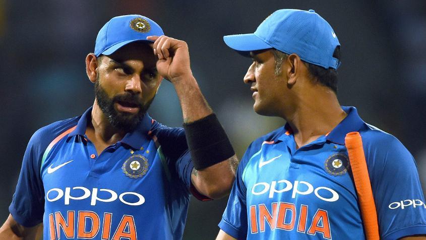 Virat Kohli is the number-one ranked batsman in the format.