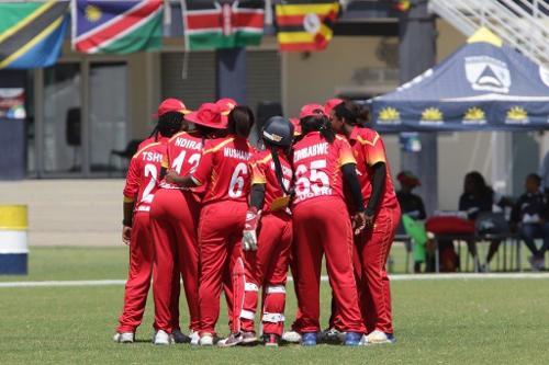 Zimabawe celebrate