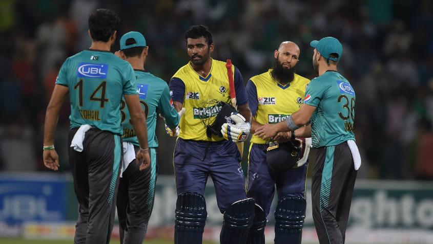Thisara Perera's blistering innings handed the World XI side a win in the second T20I