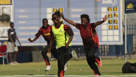 Uganda celebrate progress to the final