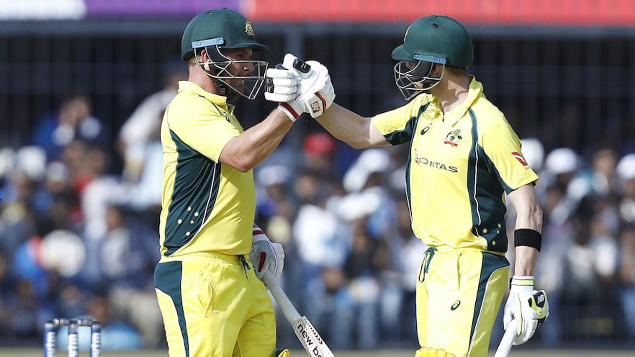 Ton-up Finch, Smith take Australia to 293/6