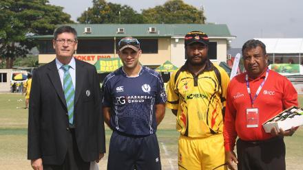 Papua New Guinea v Scotland, ICC WCL, Port Moresby