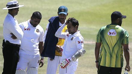 South Africa v Bangladesh, 2nd Test, Day 3, Bloemfontein