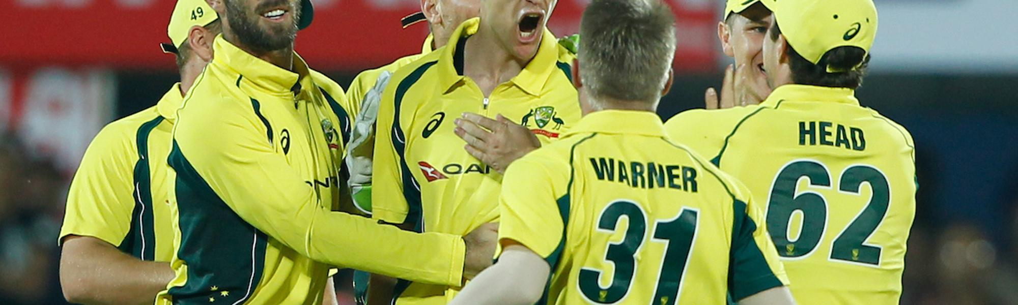 Jason Behrendorff's bowling in Guwahati provided a glimmer of hope for Australia in this limited over tour to redeem themselves.