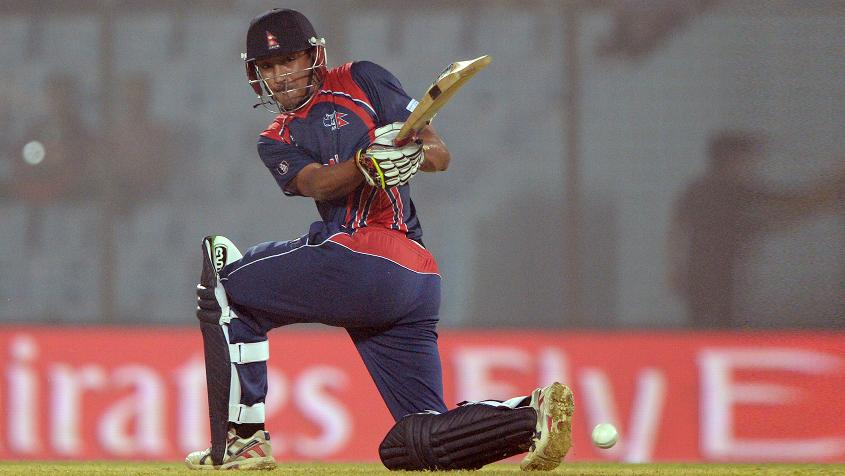 Paras Khadka of Nepal