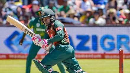 Ultimately Mushfiqur remained the last batsman standing at 110 as Bangladesh posted their highest ODI total against South Africa at 278 for 7.
