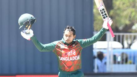 Mushfiqur's century that came in 108 balls was the first century scored by a Bangladesh batsman against South Africa across any format.