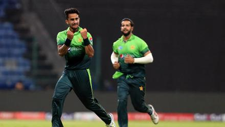Hasan Ali was just as effective and returned with figures of 1 for 32.