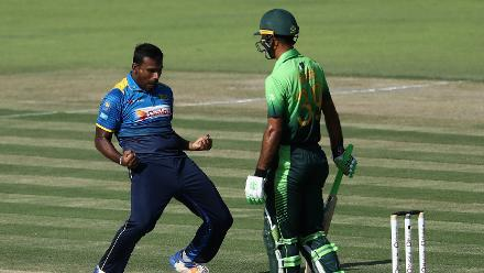 Lahiru Gamage was the architect of the destruction that left Pakistan reeling at 79 for 5.