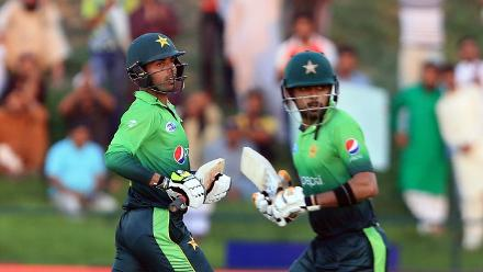 Azam put on a highly succcesful partnership for the seventh wicket worth 109 runs with Shadab Khan that revived Pakistan.