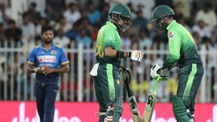Shoaib Malik and Babar Azam put on a brilliant unbeaten partnership worth 119 runs to beat Sri Lanka by 7 wickets.