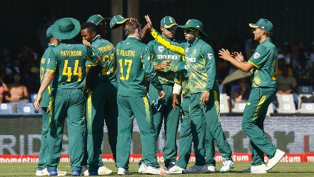 But South Africa once again triumphed in the end by restricting Bangladesh to 169 and winning by 200 runs, sealing a 3-0 series sweep.