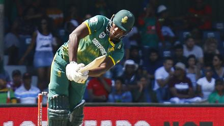 Kagiso Rabada struck three boundaries and one six in a quick-fire knock of 23 off 11 balls.