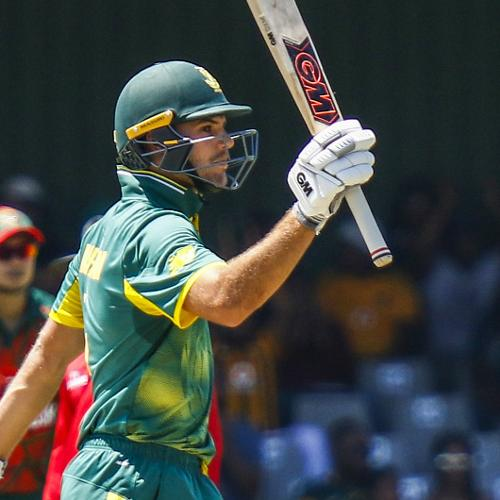 Aiden Markram performed as well on his ODI debut as heh did on his Test debut, scoring 66 off 60 balls.