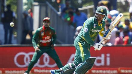 Quinton de Kock was once again successful at the top of the order with 73 off 68 balls.