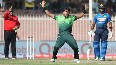 Hasan Ali once again was at his best with figures of 2 for 19 in 5.2 overs.
