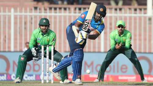 Thisara Perera was Sri Lanka's top scorer with 25 off 29 balls including three boundaries and a six.
