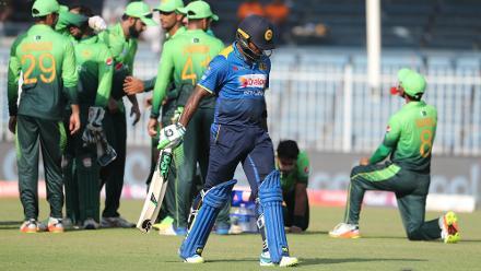 Seekkuge Prasanna was one of four Sri Lankan batsmen to score in double digits.