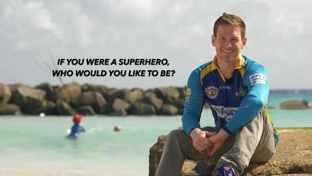 Rapid-fire Q&A with Eoin Morgan