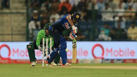 Pakistan v Sri Lanka, 2nd T20I, Abu Dhabi
