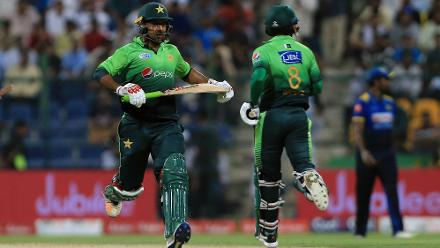 Despite a few scares in the middle, Sarfraz Ahmed led the chase admirably with a score of 28 to seal yet another series win for Pakistan by two wickets.
