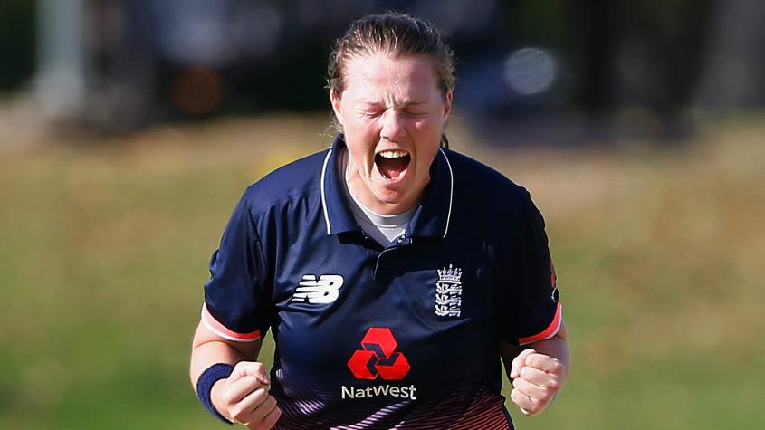 Anya Shrubsole gained one slot to reach a career-best sixth position.