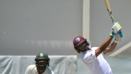 Windies were tottering at 230 for 7 when Shane Dowrich(103 off 232) notched up a crucial 212-run eighth-wicket stand with Jason Holder.