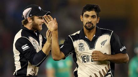 The early dismissals gave New Zealand confidence, and they picked wickets at regular intervals.