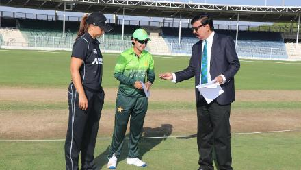 Although New Zealand won the toss, Pakistan emerged victorious by a margin of five wickets.