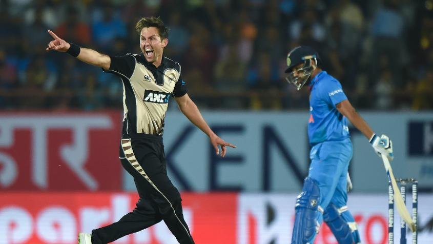 Boult, who grabbed six wickets including a haul of four for 34 in the second match in Rajkot which his side won by 40 runs, has reached a career-best 16th position after moving up 14 slots.