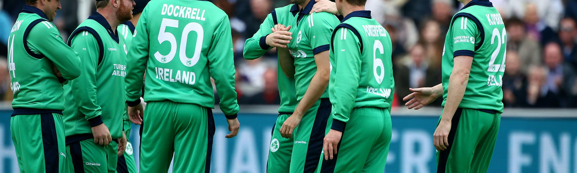 Ireland is ranked 12th in the ICC ODI rankings.