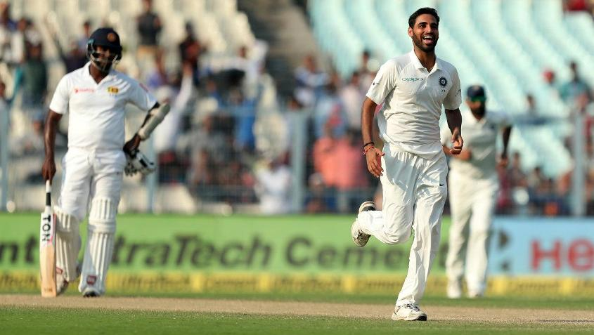 Bhuvneshwar Kumar was named the Man of the Match for his brilliant bowling performance.