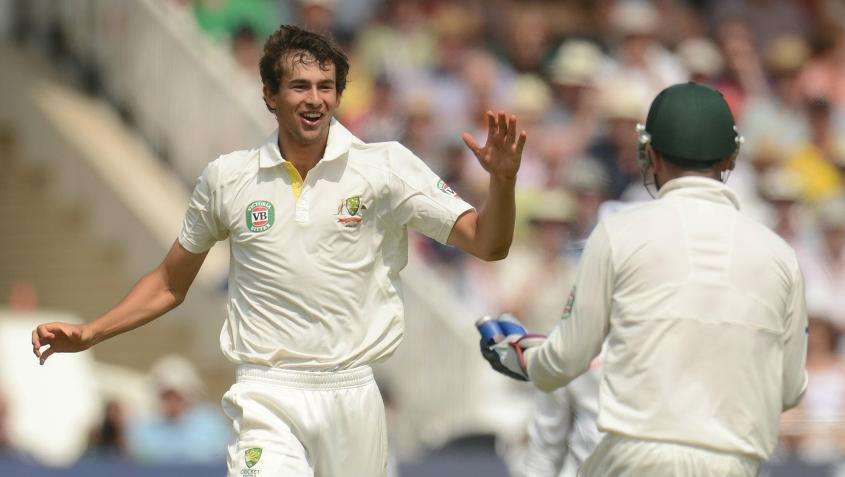 Ashton Agar made his Australian Test debut in the 2013 Ashes in England.