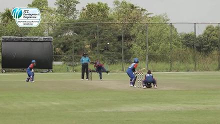 Sita Rana Magar from Nepal wickets