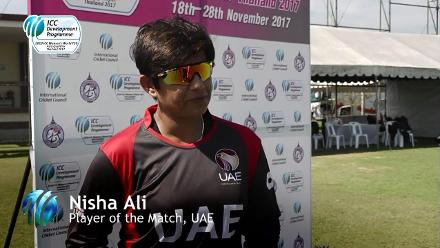 Nafisa Ali voices her thoughts after UAE qualified for the  ICC Women's World T20 Qualifier in Netherlands