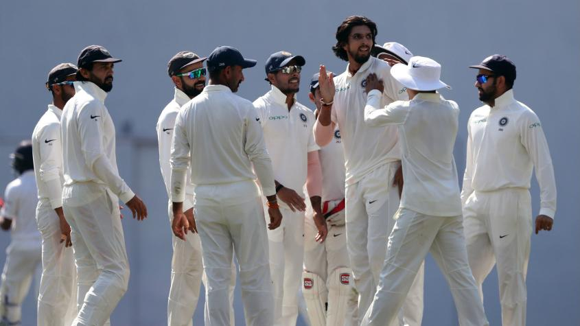 Ishant Sharma impressed with his pace and accuracy on his Test comeback.