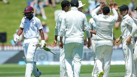 New Zealand v Windies, 1st Test, Day 1, Wellington